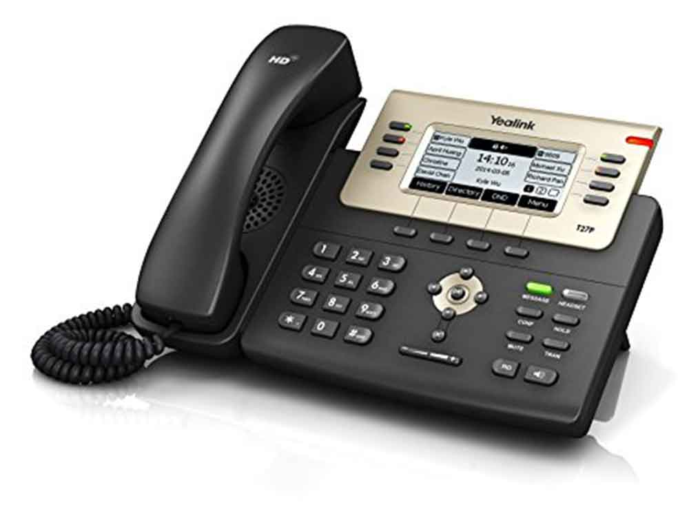 A picture of a Yealink T27G IP Handset