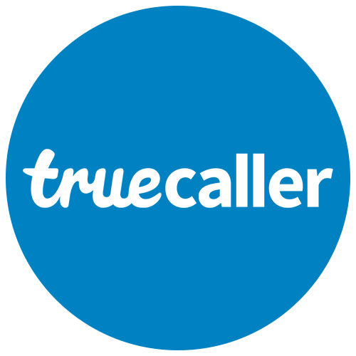 Blue circle Truecaller icon